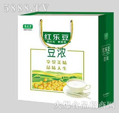 养生季红乐豆豆浓饮品200mlx12礼盒装