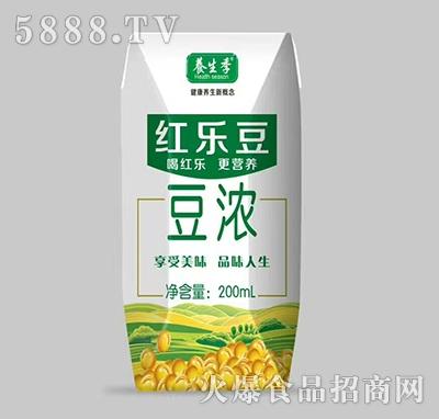 养生季红乐豆豆浓饮品200ml