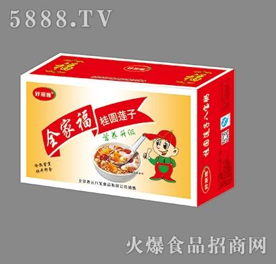 好丽雅全家福桂圆莲子(12罐小板盒)