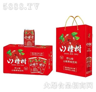 山楂树山楂果味饮料