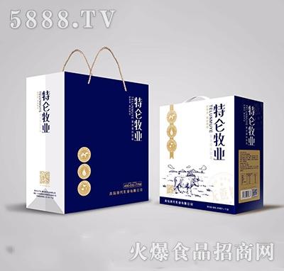 特仑牧业复合蛋白250mlx12礼盒装
