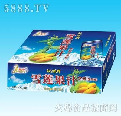 金带雪莲果汁310mlX24