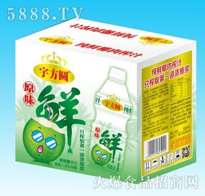 宇方圆鲜榨椰子汁1.25LX6