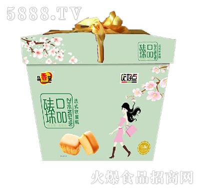 品香苑好吃点法式软蛋糕精致礼盒