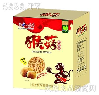 江中一品香猴菇奶香饼干箱装
