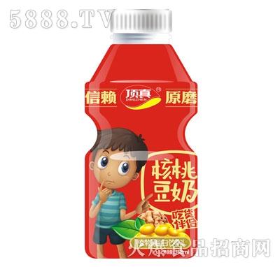 顶真原磨核桃豆奶358ml产品图