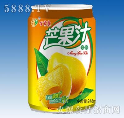 百事康芒果汁
