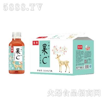 甄典果C山楂果汁饮料500MLX15瓶