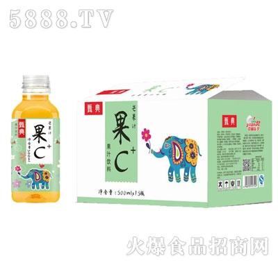 甄典果C芒果汁饮料500MLX15瓶