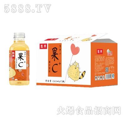 甄典果C菠萝果汁500MLX15瓶