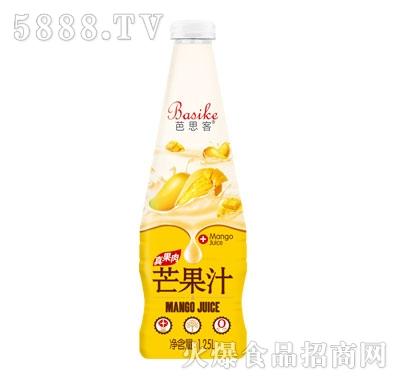 芭思客芒果汁饮料1.25L