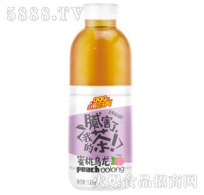 澳力佳蜜桃乌龙茶550ml