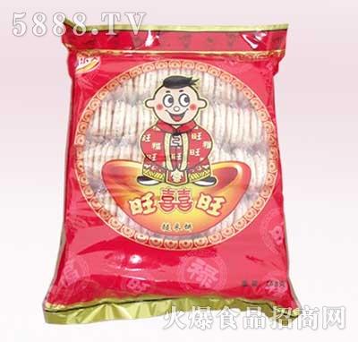 768克福喜旺糙米饼袋装