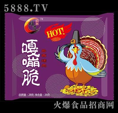 福道嘎嘣脆巴西烤肉味28g