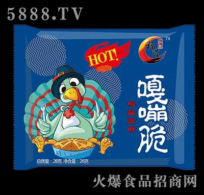 福道嘎嘣脆椒盐芝麻味28g