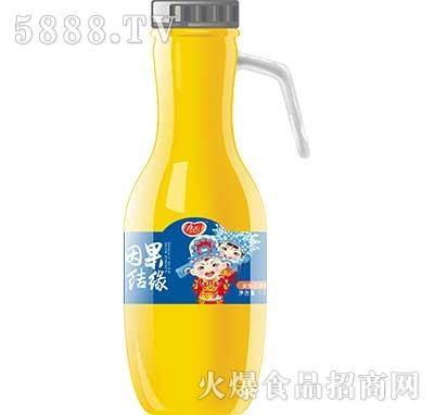 因果结缘黄桃汁1.5L