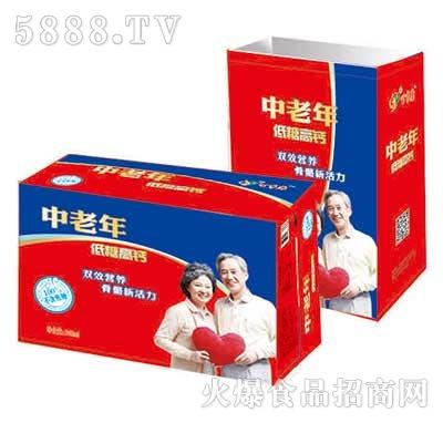 中老年低糖高钙饮品240ml箱装