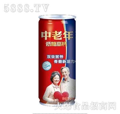 中老年低糖高钙饮品240ml