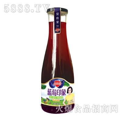 金娇阳蓝莓印象(蓝莓味饮料)1.5L