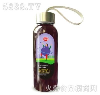 金娇阳蓝莓食代(蓝莓味饮料)420ML