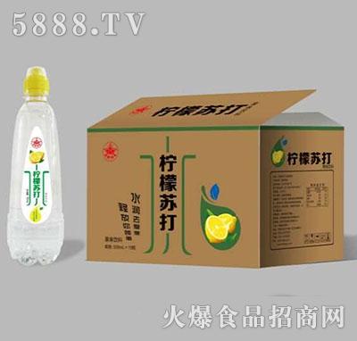 柠檬苏打水饮料