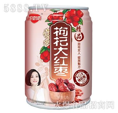 金娇阳枸杞大红枣罐子