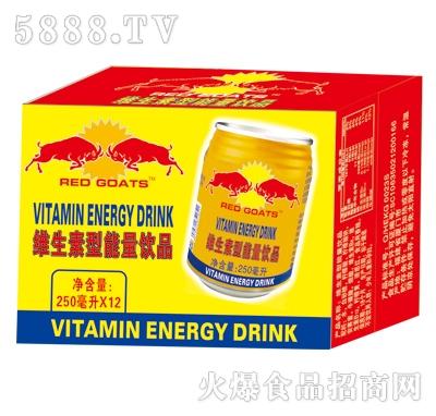 RedGoats维生素型能量饮品250mlx12罐
