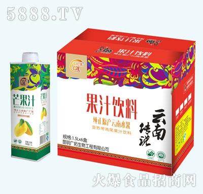 大马邦芒果汁1.5Lx6盒