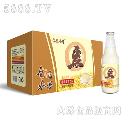 仓西农场原味豆奶300mlX24瓶