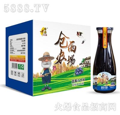 仓西农场蓝莓汁饮料1.5LX6