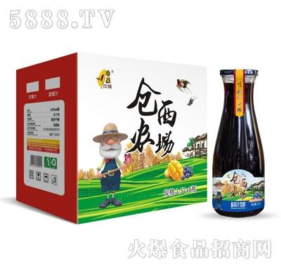 仓西农场蓝莓汁饮料1.5LX6瓶