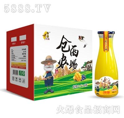仓西农场芒果汁饮料1.5LX6