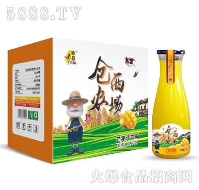 仓西农场芒果汁饮料1.5LX6瓶