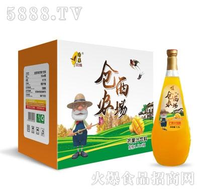 仓西农场芒果汁1.5LX6