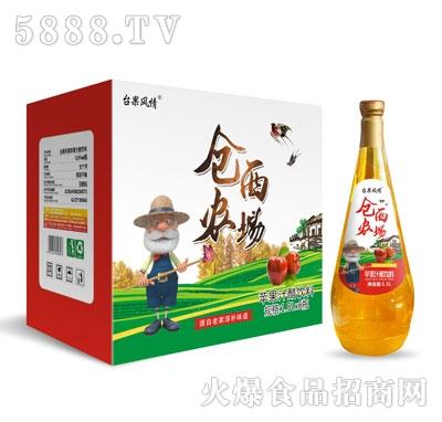 仓西农场苹果汁1.5LX6