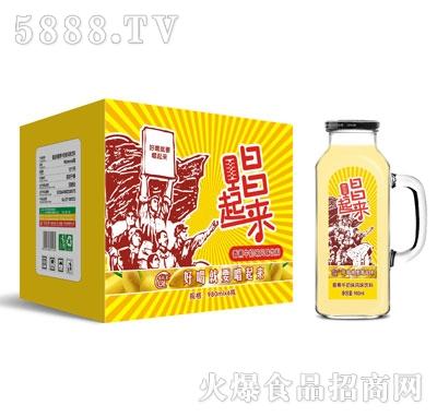 唱起来香蕉牛奶风味饮料980mlX6瓶