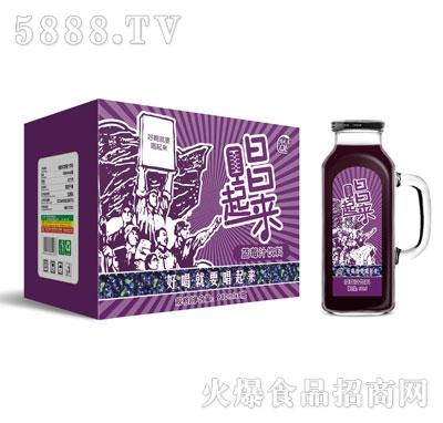 唱起来蓝莓汁饮料980mlX6瓶