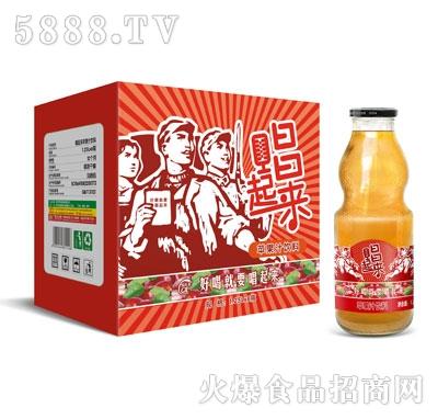 唱起来苹果汁饮料1.25LX6瓶