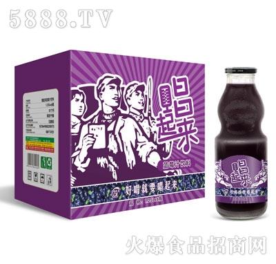 唱起来蓝莓汁饮料1.25LX6瓶