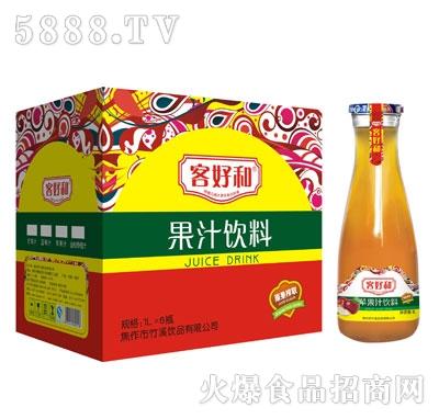 客好和苹果汁1LX6瓶