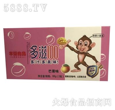 唇乐动88克(2杯)多滋100喜庆盒装(芒果味)