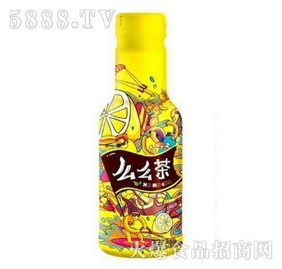 三怡坊么么茶柠檬红茶450ML