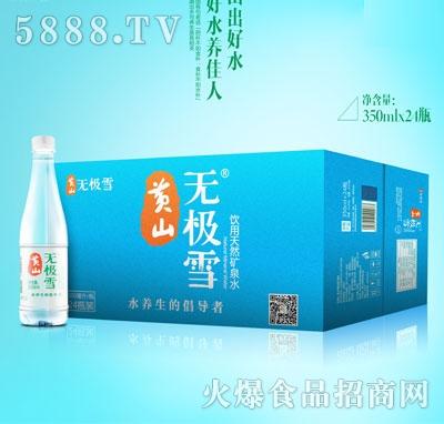 无极雪饮用天然矿泉水350mlX24瓶