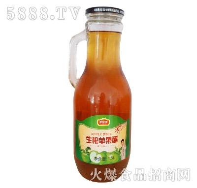 伊思源生榨苹果醋1.5L