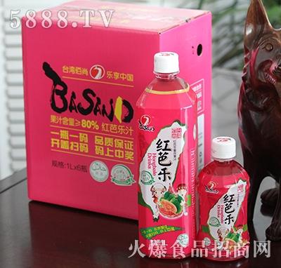 佰尚红芭乐复合果汁1Lx6瓶