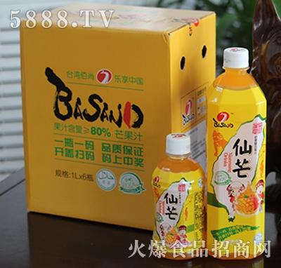 佰尚仙芒芒果复合果汁1Lx6瓶