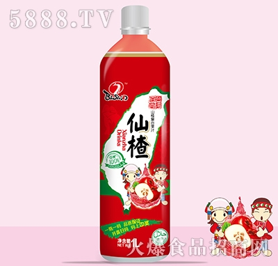 佰尚仙楂复合果汁1L