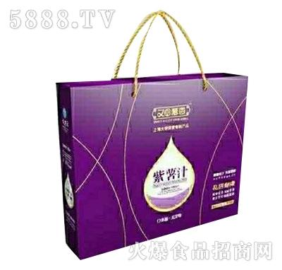 又闻薯香紫薯汁礼盒装产品图