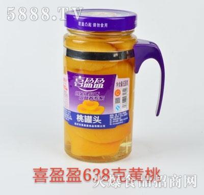 喜盈盈黄桃罐头638g