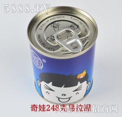 奇娃水果罐头248g
